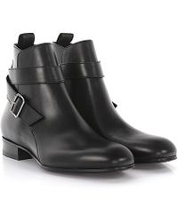 Balenciaga - Boots Classic City Business Booty Leather Black - Lyst