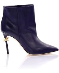 DSquared² - Ankle Boots Babe Wire Purple - Lyst