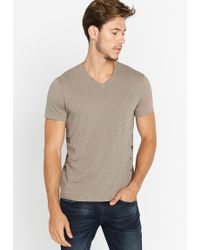 Buffalo David Bitton - Ticore Short-sleeve V-neck Slub T-shirt - Lyst