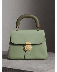 Burberry - The Medium Dk88 Top Handle Bag Celadon Green - Lyst