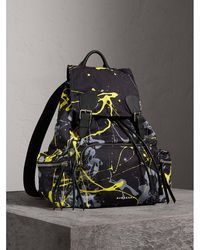 Burberry - The Large Rucksack In Splash Print - Lyst