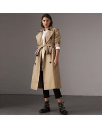 Burberry - The Westminster – Trench extra-long - Lyst