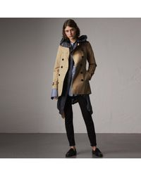 Burberry - The Sandringham – Mid-length Heritage Trench Coat Honey - Lyst