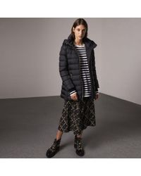 Burberry - Hooded Down-filled Puffer Jacket - Lyst
