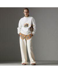Burberry - Reissued Jersey Sweatshirt - Lyst