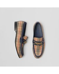Burberry - The 1983 Check Link Loafer - Lyst