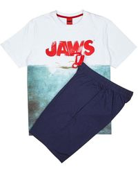 Burton - White Jaws Pyjama Set - Lyst