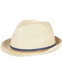 79dd1f822fb Ps By Paul Smith Woven Trilby Hat in Blue for Men - Lyst