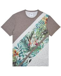 9af7edc57 COMME DES GARÇONS PLAY Printed T-shirt With Patch for Men - Lyst