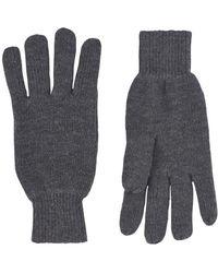Burton - Grey Thinsulate Gloves - Lyst