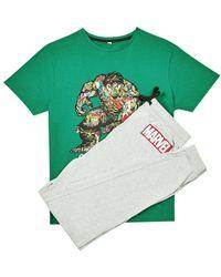 Burton - Green Hulk Pyjama Set - Lyst