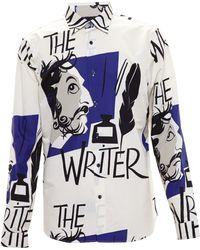 Burberry Prorsum The Writer Shirt - Lyst