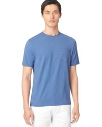 Calvin Klein Crewneck Pocket Tshirt - Lyst