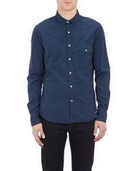 Save Khaki Washed Poplin Shirt - Lyst