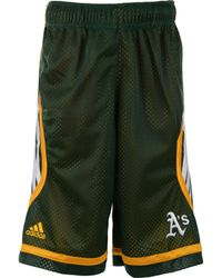 Adidas Boys Oakland Athletics Shorts - Lyst