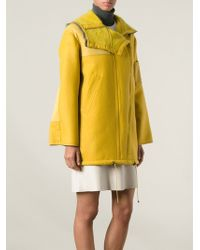 Missoni Yellow Short Coat - Lyst
