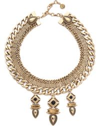 Samantha Wills - Midnight Rendezvous Collar Necklace - Antique Gold - Lyst