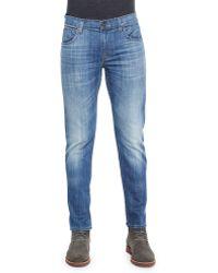Hudson Blake Slim-Straight Leg Jeans - Lyst