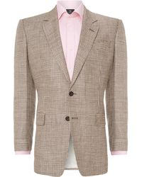 Chester Barrie Classic Houndstooth Check Jacket - Lyst