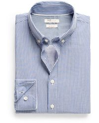 Mango Slimfit Striped Shirt - Lyst