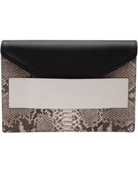Narciso Rodriguez Envelope Clutch - Lyst
