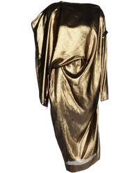 Lanvin 3/4 Length Dress - Lyst