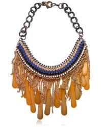 Sveva Tebe Necklace - Lyst