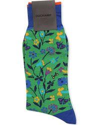 Duchamp Butterfly Garden Socks - For Men - Lyst