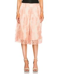 Zimmermann Tarot Lace Pajama Shorts pink - Lyst