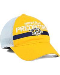 Reebok Nashville Predators Player Mesh Slouch Cap - Lyst