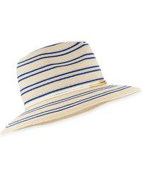 Eugenia Kim Courtney Striped Fedora Hat - Lyst