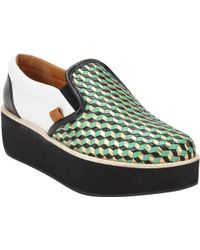 Flamingos Cocunut Slip-On Platform Sneakers - Lyst