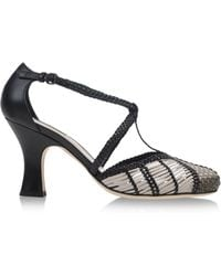 Bottega Veneta Closed Toe gray - Lyst