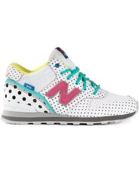 New Balance White 996 Sneakers - Lyst