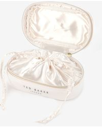 Ted Baker Slim Bow Jewellery Case - Lyst