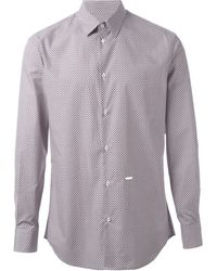 DSquared2 Patterned Shirt - Lyst