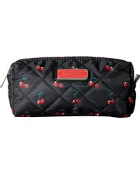 Marc By Marc Jacobs | Crosby Quilt Nylon Fruit Cosmetics Narrow Cosmetic | Lyst