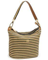 Eric Javits 'Dame' Bucket Bag beige - Lyst