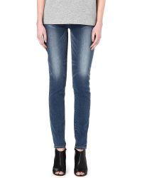 Levi's Revel Demi Skinny Mid-rise Jeans - Lyst