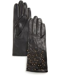Pink Pony - Lauren Embellished Gloves - Lyst