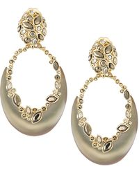 Alexis Bittar Opulescent Oval Clip Earrings - Lyst