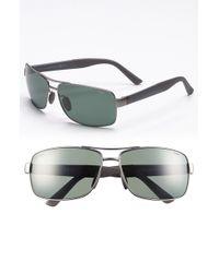 Gucci '2234/S' 63Mm Polarized Sunglasses - Ruthenium - Lyst