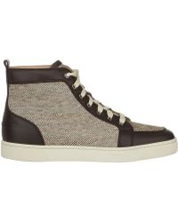 Christian Louboutin Rantus Flat Sneakers - Lyst