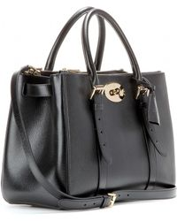 Mulberry - Bayswater Double Zip Leather Tote - Lyst