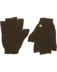Wooden Ships Retro Fingerless Gloves - Lyst