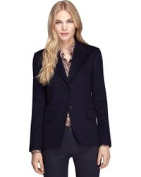 Brooks Brothers Classic Fit Twobutton Cashmere Jacket - Lyst