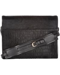 Pierre Hardy Haircalf  Raccoon Fv03 Flat Clutch - Lyst