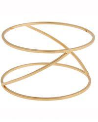 Rachel Zoe Eloise 12K Gold Bangle Bracelet - Lyst
