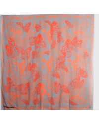 Zadig & Voltaire Scarf Kerry Butterfly Skull - Lyst