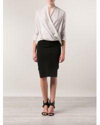 Zero + Maria Cornejo Iris Punto Skirt - Lyst